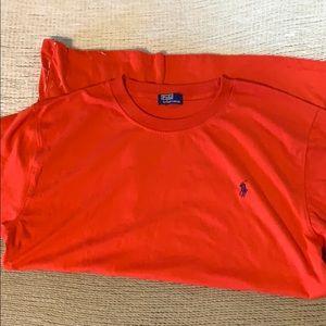 Men's polo tee shirt